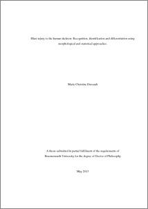 Thesis binding margins