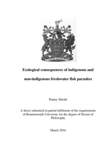Bournemouth University Research Online [BURO] - Ecological